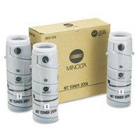 Konica Minolta 8932-302 Black Laser Toner Bottles