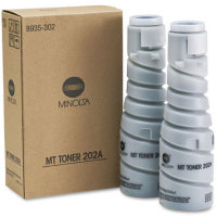 Konica Minolta 8935-302 Black Laser Toner Bottles