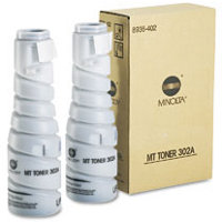 Konica Minolta 8936-402 Black Laser Toner Bottles (2/Pack)