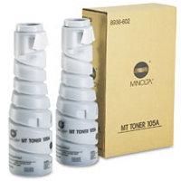 Konica Minolta 8936-602 Black Laser Toner Bottles (2/Pack)