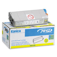 Konica Minolta 950-186 (950186) Yellow Laser Toner Cartridge