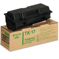 Kyocera Mita TK-17 (TK17) Black Laser Toner Cartridge