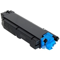 Compatible Kyocera Mita TK-5152C (1T02NSCUS0) Cyan Laser Toner Cartridge (Made in North America; TAA Compliant)
