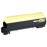 Compatible Kyocera Mita TK-542Y (1T02HLAUS0) Yellow Laser Toner Cartridge