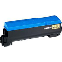 Compatible Kyocera Mita TK552C (TK-552C) Cyan Laser Toner Cartridge (Made in North America; TAA Compliant)