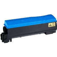 Compatible Kyocera Mita TK-582C (1T02KTCUS0) Cyan Laser Toner Cartridge (Made in North America; TAA Compliant)