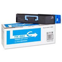Kyocera Mita TK-882C (Kyocera Mita 1T02KACUS0) Laser Toner Cartridge