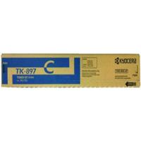 Kyocera Mita TK-897C (Kyocera Mita 1T02K0CUS0) Laser Toner Cartridge