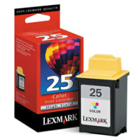 Lexmark 15M0125 (Lexmark #25) High-Resolution Color InkJet Cartridge