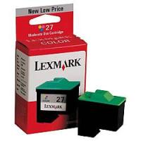 Lexmark 10N0227 (Lexmark #27) Moderate Yield Color Inkjet Cartridge