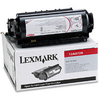 Lexmark 12A0725 Black Non-Prebate Laser Toner Cartridge