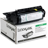 Lexmrark 12A0825 Black PREBATE Laser Toner Cartridge