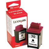 Lexmark 12A1970 (Lexmark #70) Black Inkjet Cartridge