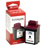 Lexmark 12A1975 (Lexmark #75) Black Inkjet Cartridge