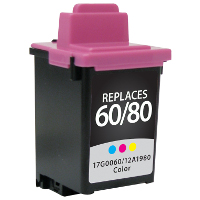 Lexmark 12A1980 / Lexmark #80 Replacement InkJet Cartridge
