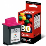 Lexmark 12A1980 (Lexmark #80) Inkjet Cartridge