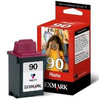 Lexmark 12A1990 (Lexmark #90) Photo InkJet Cartridge