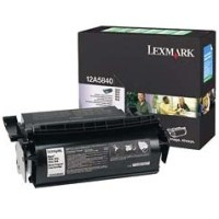 Lexmark 12A5840 Black Laser Toner Cartridge