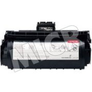 Lexmark 12A6735 MICR  Professionally Remanufactured Black Magnetic Laser Toner Cartridge with New Optical Drum