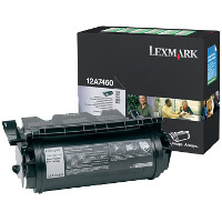 Lexmark 12A7460 Black Return Program Laser Toner Cartridge