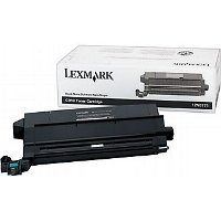 Lexmark 12N0771 Black  Laser Toner Cartridge (includes Oil Coating Roller)