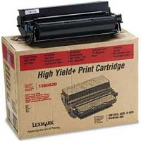 Lexmark 1380520 High Capacity Black Laser Toner Cartridge