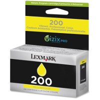 Lexmark 14L0088 (Lexmark # 200 Yellow) InkJet Cartridge