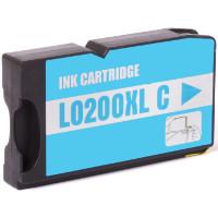 Lexmark 14L0198 (Lexmark # 200XLA Cyan) Compatible InkJet Cartridge
