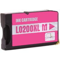 Lexmark 14L0199 (Lexmark # 200XLA Magenta) Compatible InkJet Cartridge