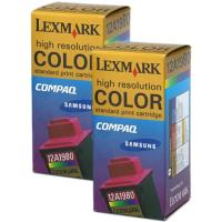 Lexmark 15M1335 Color InkJet Cartridges
