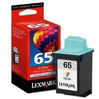 Lexmark 16G0065 (Lexmark #65) Color High-Yield, High Resolution Inkjet Cartridge