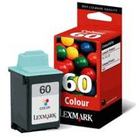 Lexmark 17G0060 (Lexmark #60) Inkjet Cartridge