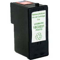 Lexmark 18C0031 (Lexmark #31) Remanufactured InkJet Cartridge