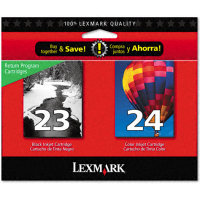 Lexmark 18C1571 InkJet Cartridge MultiPack (#23 / #24)