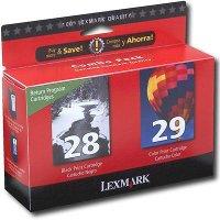 Lexmark 18C1590 (Lexmark Twin-Pack #28, #29) InkJet Cartridges