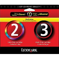 Lexmark 18C1737 (Lexmark Twin-Pack #2, #3) InkJet Cartridges
