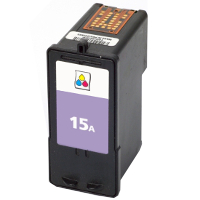 Lexmark 18C2100 (Lexmark #15A) Remanufactured InkJet Cartridge