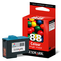 Lexmark 18L0000 (Lexmark #88) Color Inkjet Cartridge - High Capacity