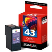 Lexmark 18Y0143 (Lexmark #43XL) InkJet Cartridge