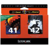 Lexmark 18Y0238 (Lexmark #41/#42) InkJet Cartridge MultiPack