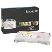 Lexmark 20K1402 High Capacity Yellow Laser Toner Cartridge