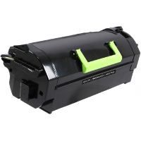 Compatible Lexmark Lexmark 621H (62D1H00) Black Laser Toner Cartridge (Made in North America; TAA Compliant)