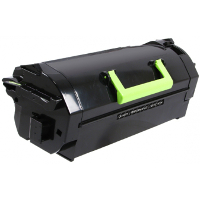 Compatible Lexmark Lexmark 621X (62D1X00) Black Laser Toner Cartridge (Made in North America; TAA Compliant)