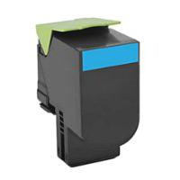 Compatible Lexmark 701HC (70C1HC0) Cyan Laser Toner Cartridge