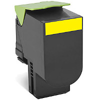 Compatible Lexmark Lexmark 701XY (70C1XY0) Yellow Laser Toner Cartridge (Made in North America; TAA Compliant)