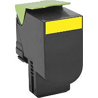 Lexmark 80C1SY0 Compatible Laser Toner Cartridge