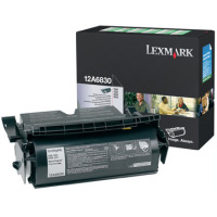 Lexmark 12A6830 Black PREBATE Laser Toner Cartridge