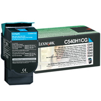 Lexmark C540H1CG OEM originales Cartucho de tóner láser