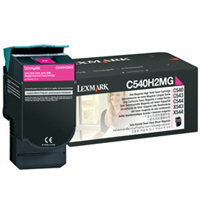 Lexmark C540H2MG Laser Toner Cartridge