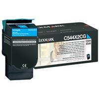 Lexmark C544X2CG OEM originales Cartucho de tóner láser